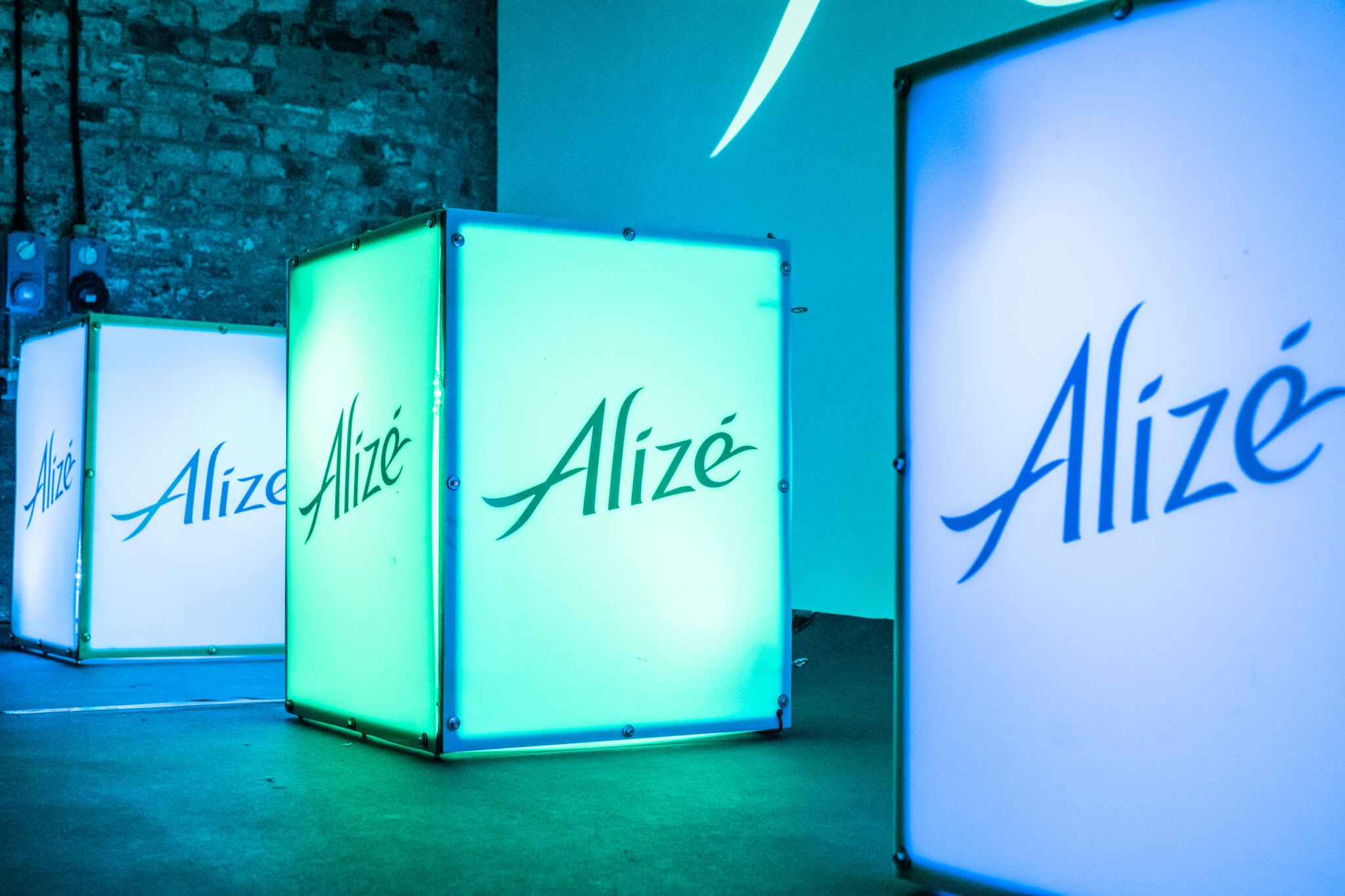 alize lightbox led cube